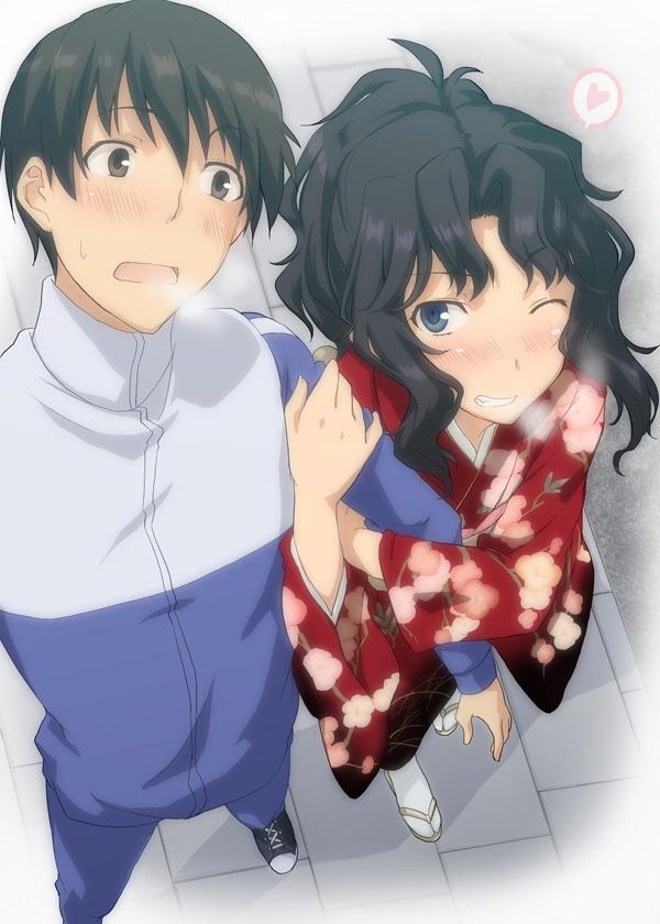 Tags: Anime, Nagisa Manoa, Amagami, Tachibana Junichi, Tanamachi Kaoru, Pixiv
