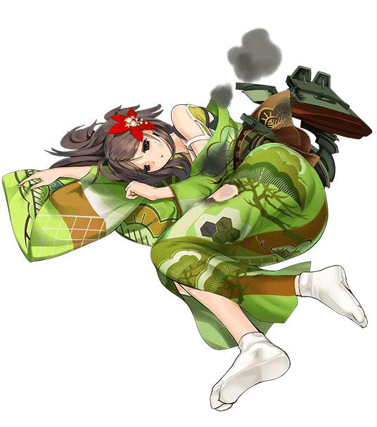 Tags: Anime, Nijiiro Ink, Kadokawa Games, Kantai Collection, Amagi (Kantai Collection), PNG Conversion, Official Art