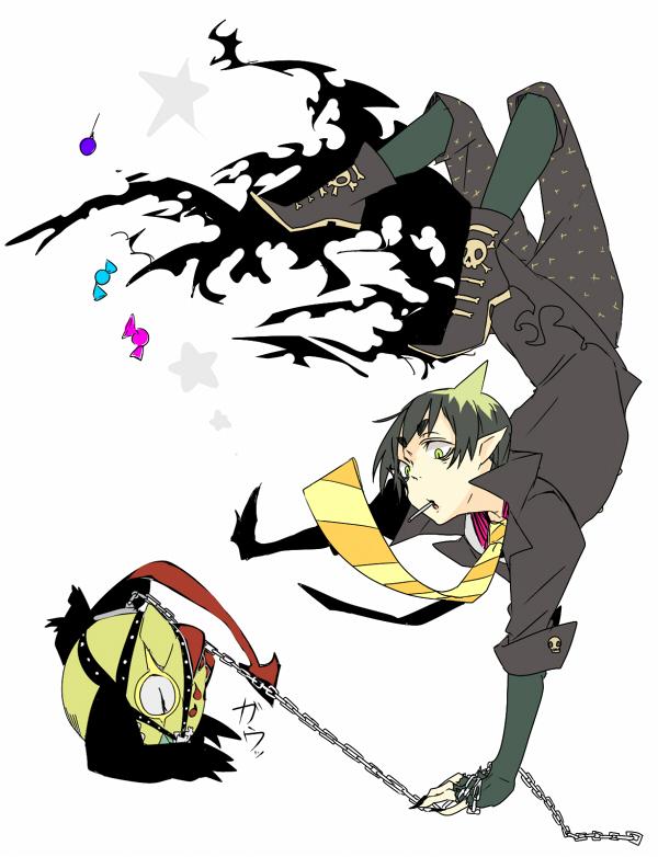 Tags: Anime, Pixiv Id 94282, Ao no Exorcist, Behemoth (Ao No Exorcist), Amaimon, Pixiv, Fanart, Fanart From Pixiv