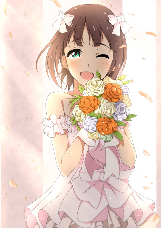 Tags: Anime, Pixiv Id 3951957, THE iDOLM@STER, Amami Haruka, Pixiv, Mobile Wallpaper