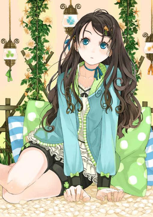 Tags: Anime, Amamiya Chiharu, Yokozuwari, Mobile Wallpaper, Pixiv, Original