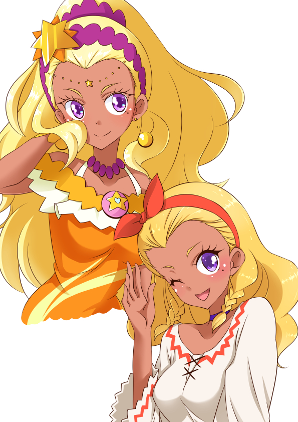 Tags: Anime, Pixiv Id 12354243, Star☆Twinkle Precure, Amamiya Erena, Cure Soleil, Fanart From Pixiv, Pixiv, Fanart