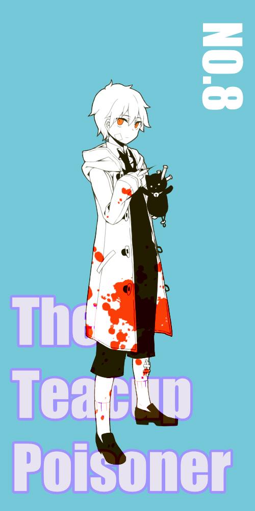 Tags: Anime, Pixiv Id 1155054, Kagerou Project, Amamiya Hibiya, Syringe, Hand Puppet, Pixiv, Cosplay Request, Fanart, Fanart From Pixiv