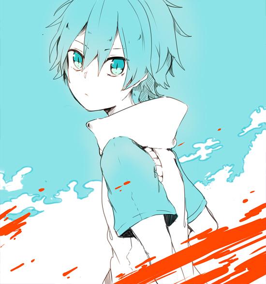 Tags: Anime, Shiuka (Shiupiku), Kagerou Project, Amamiya Hibiya, Fanart, Tumblr