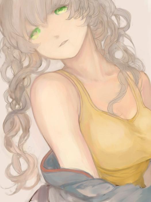 Tags: Anime, 3838383 (Artist), Steins;Gate, Amane Suzuha, Pixiv, Fanart