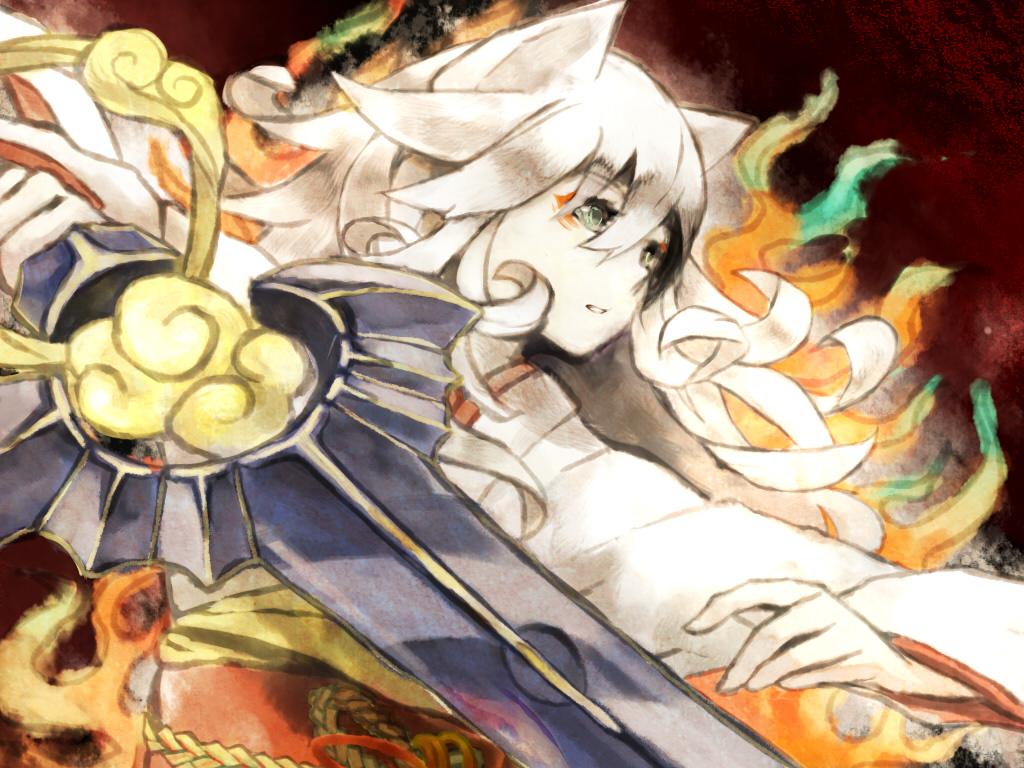 amaterasu okami zerochan anime image board