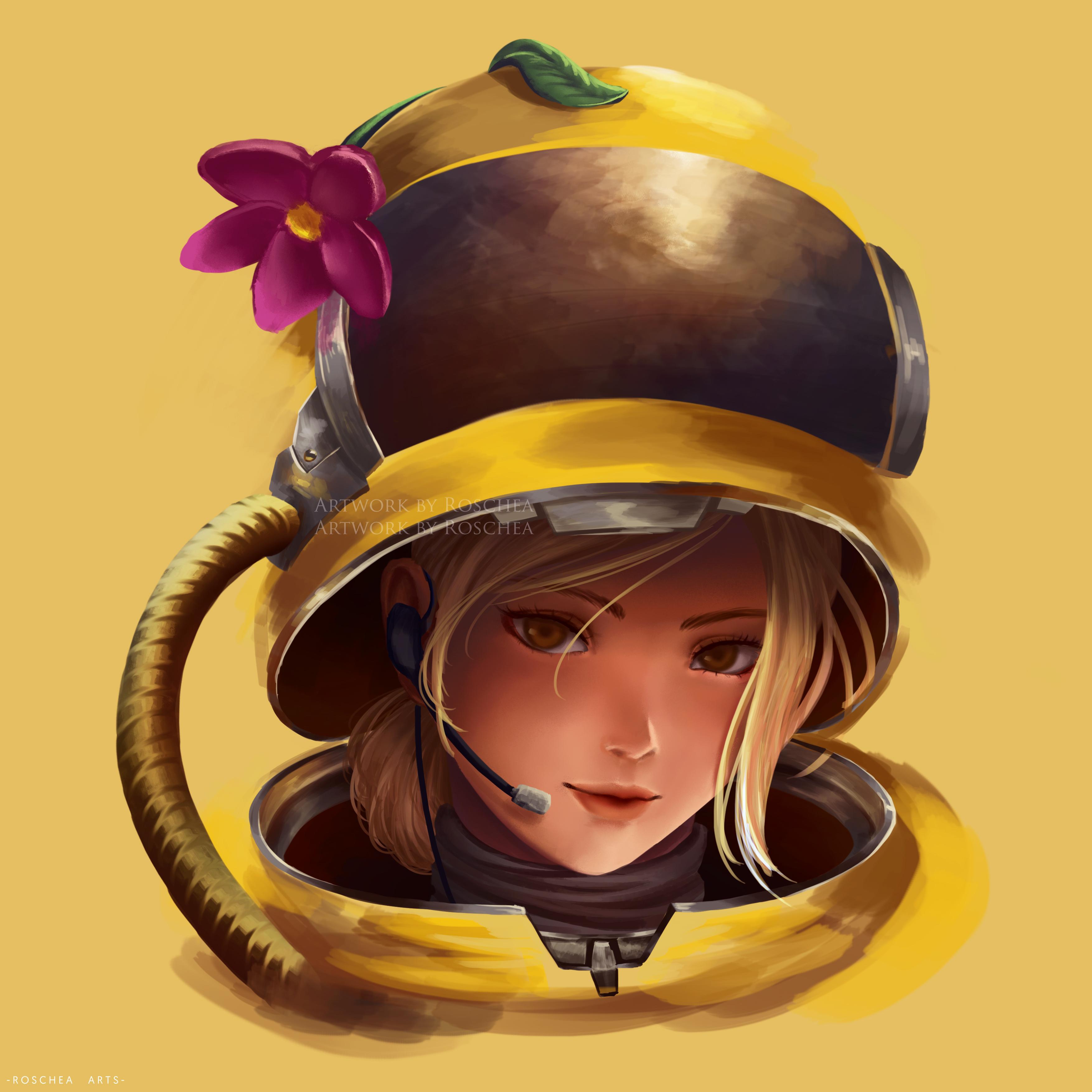 Female Anime Female Among Us Character Anime Wallpaper Hd