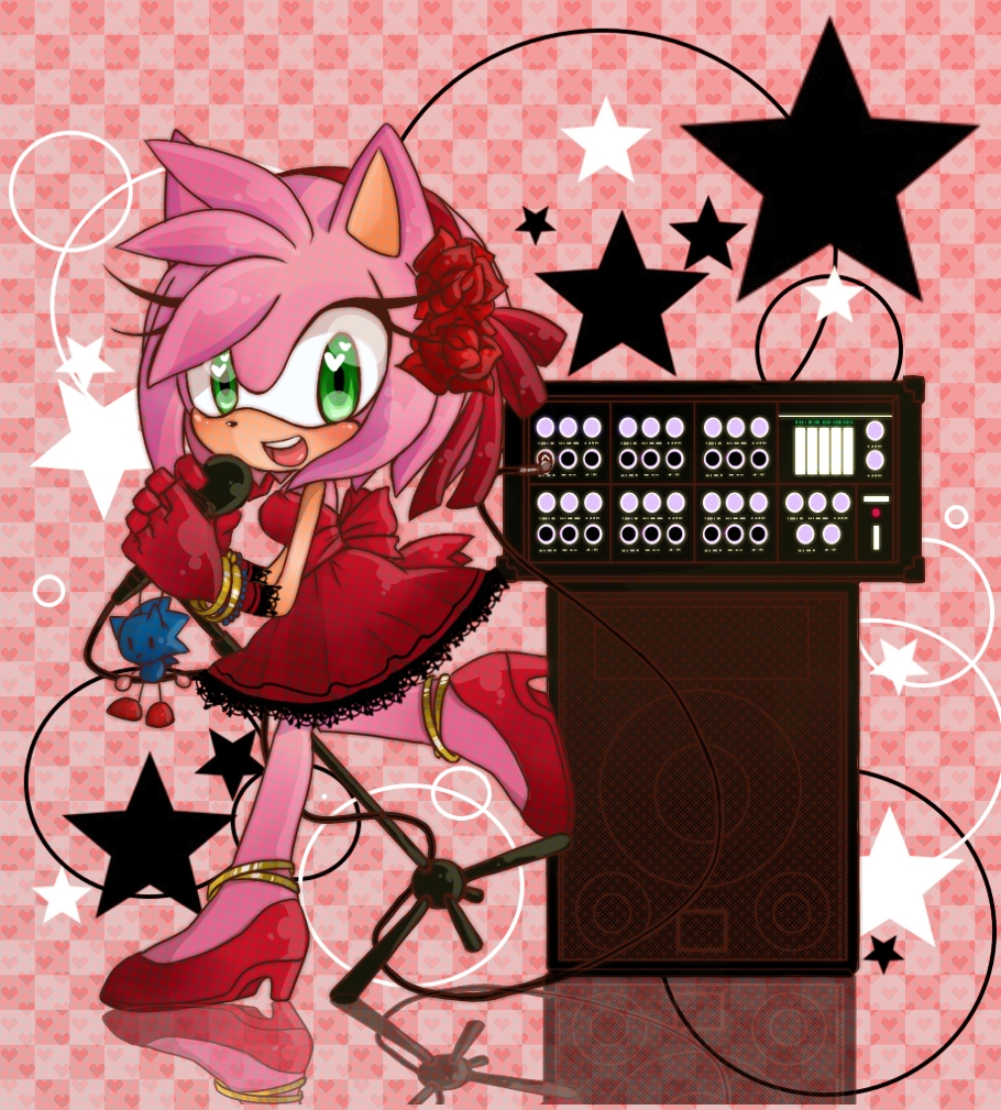 Sonic and Amy Rose Sonamy iphone case