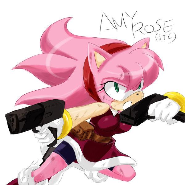 Tags: Anime, Garugirosonicshadow, Sonic the Hedgehog, Amy Rose, Fanart From DeviantART, Fanart, deviantART