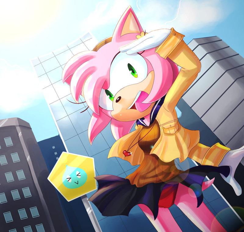 Sega amy rose1 - 1 4