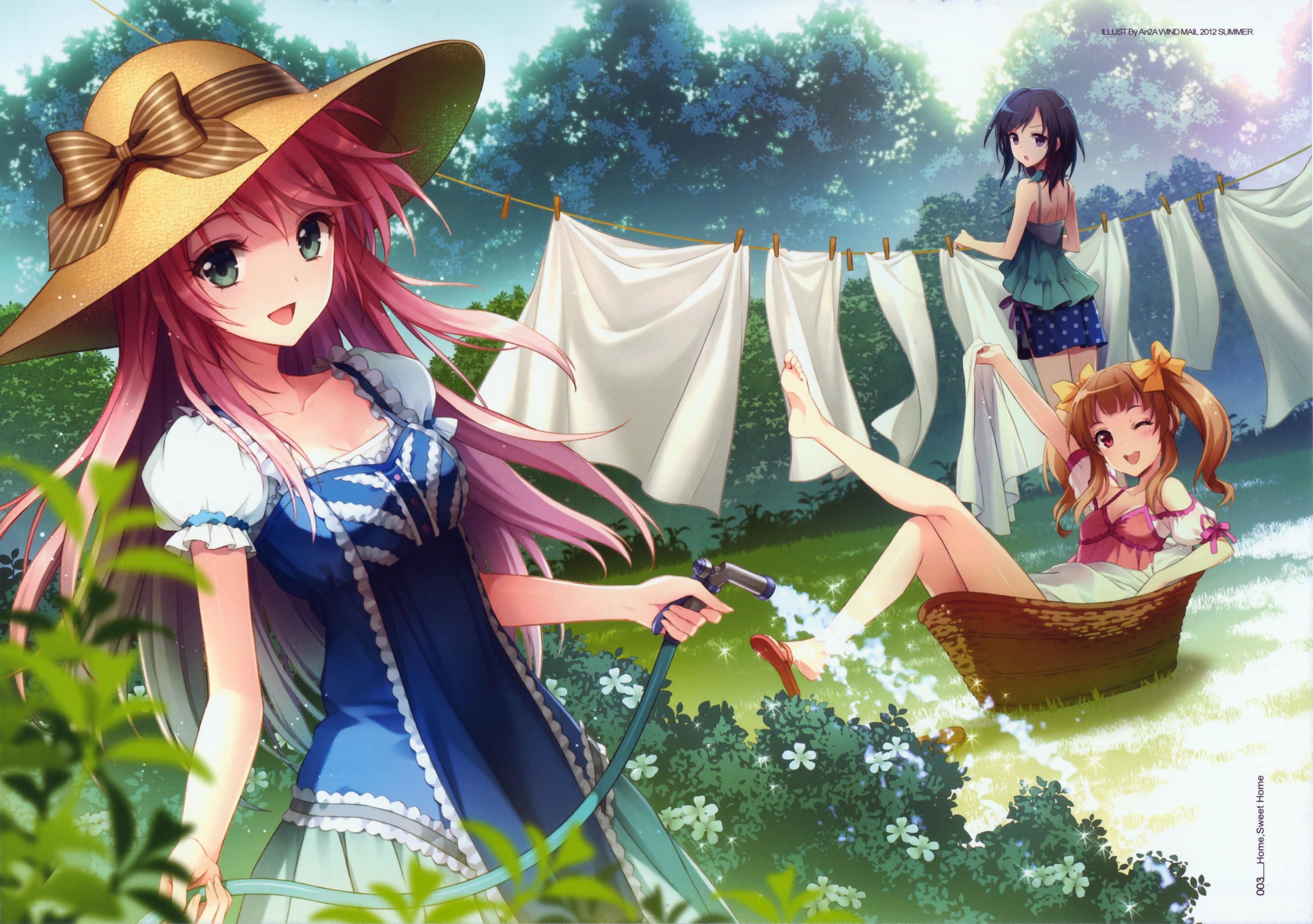 Sun Hat Zerochan Anime Image Board