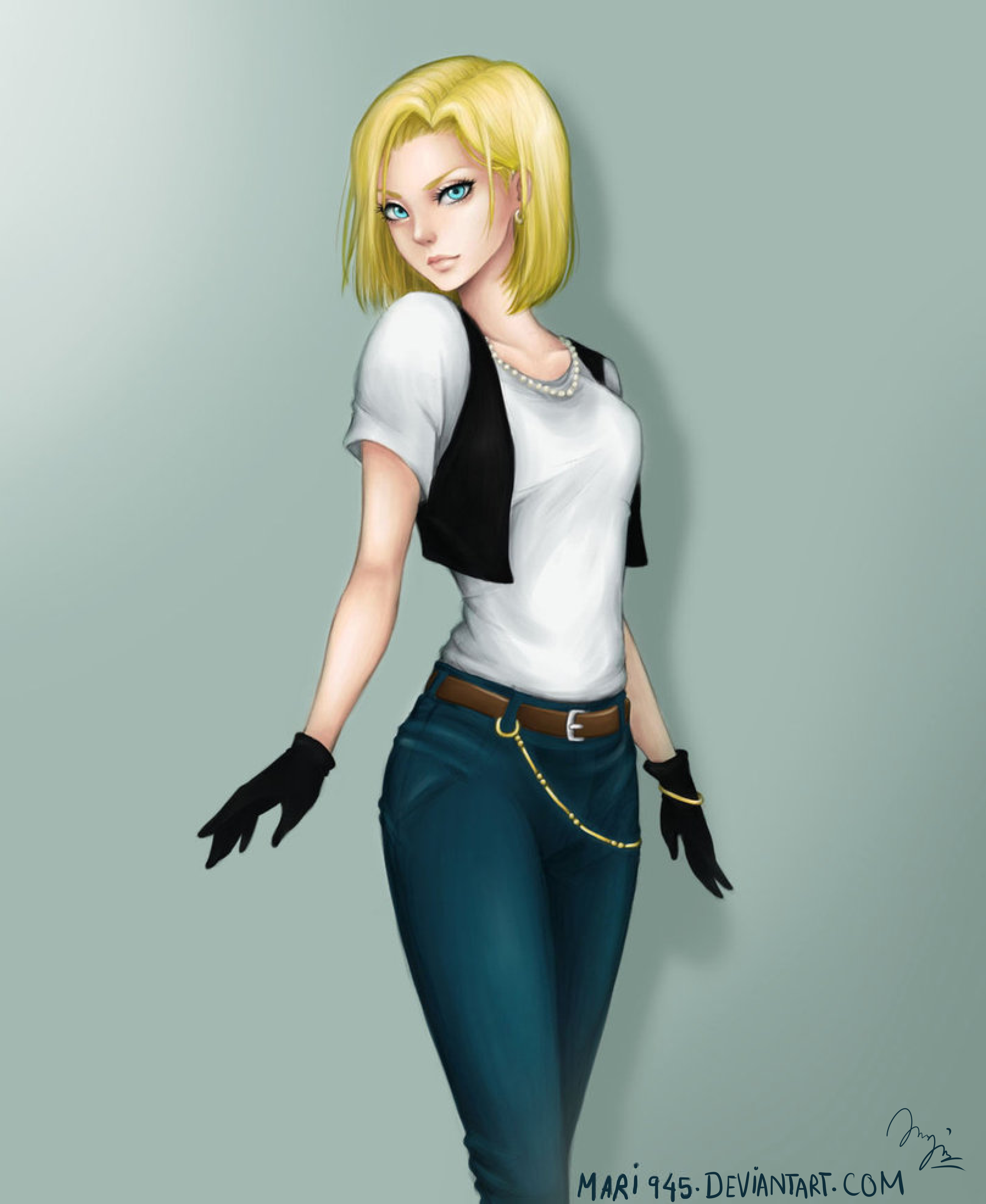Android 18 Dragon Ball Z Zerochan Anime Image Board