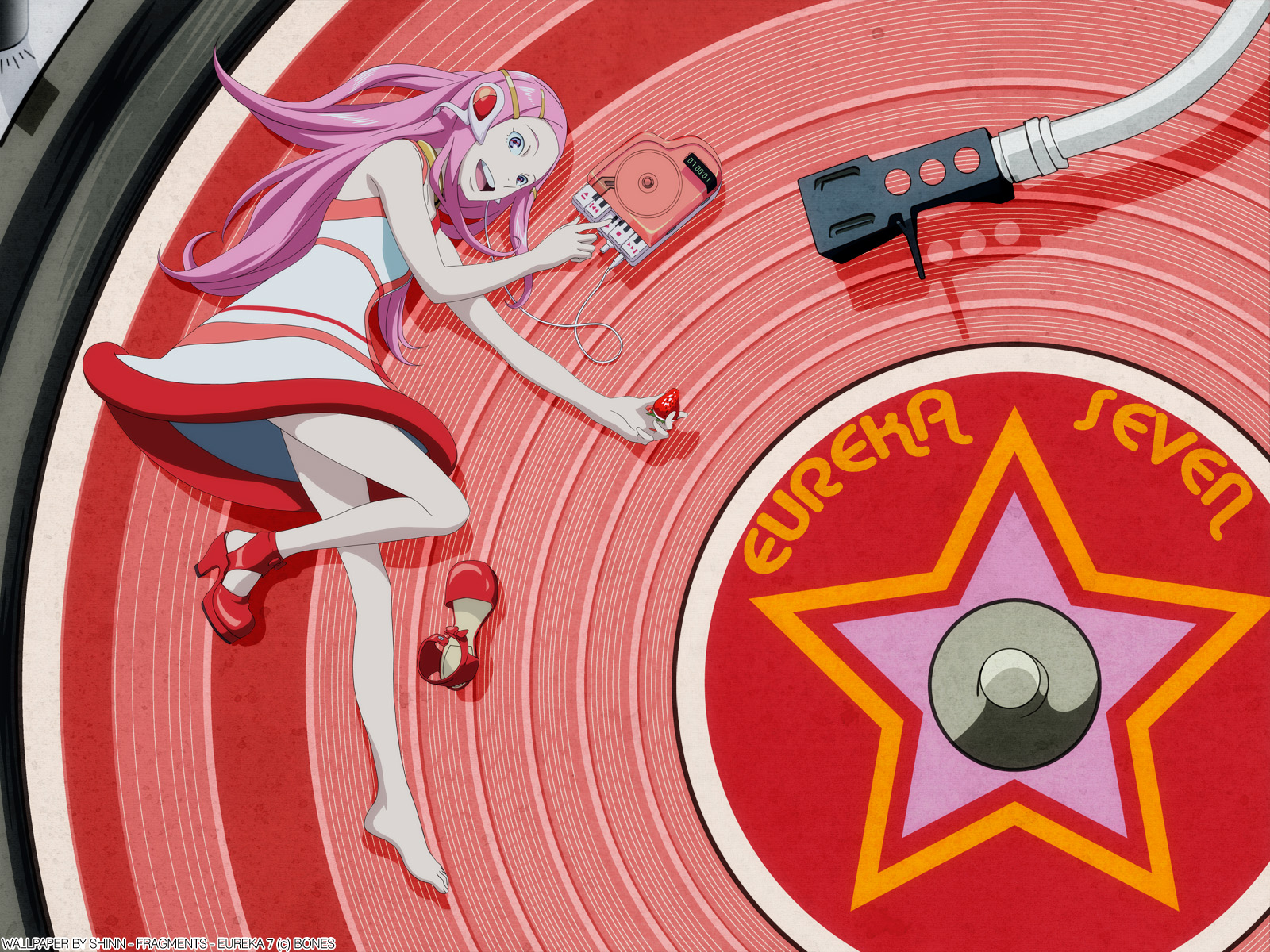 Eureka Seven Anemone And The End 8 Fav Anemone Eureka Seven