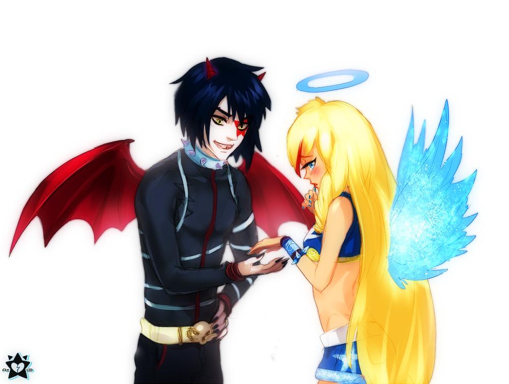 друзья ангелов картинки аниме