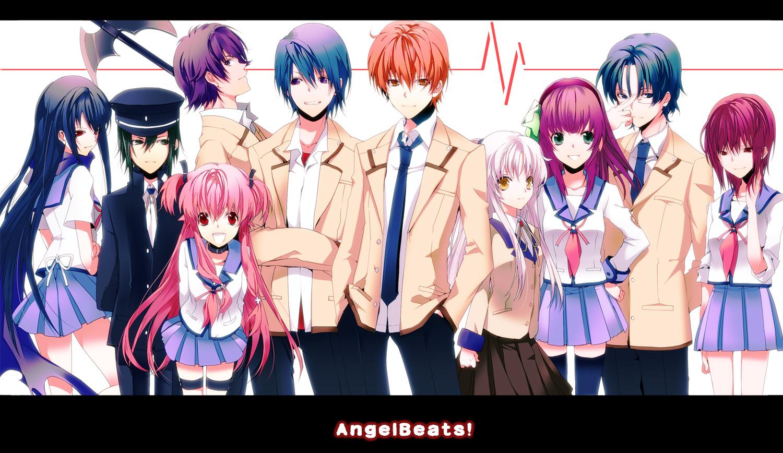 Angel Beats Op angel beats! image #236212 - zerochan anime image board