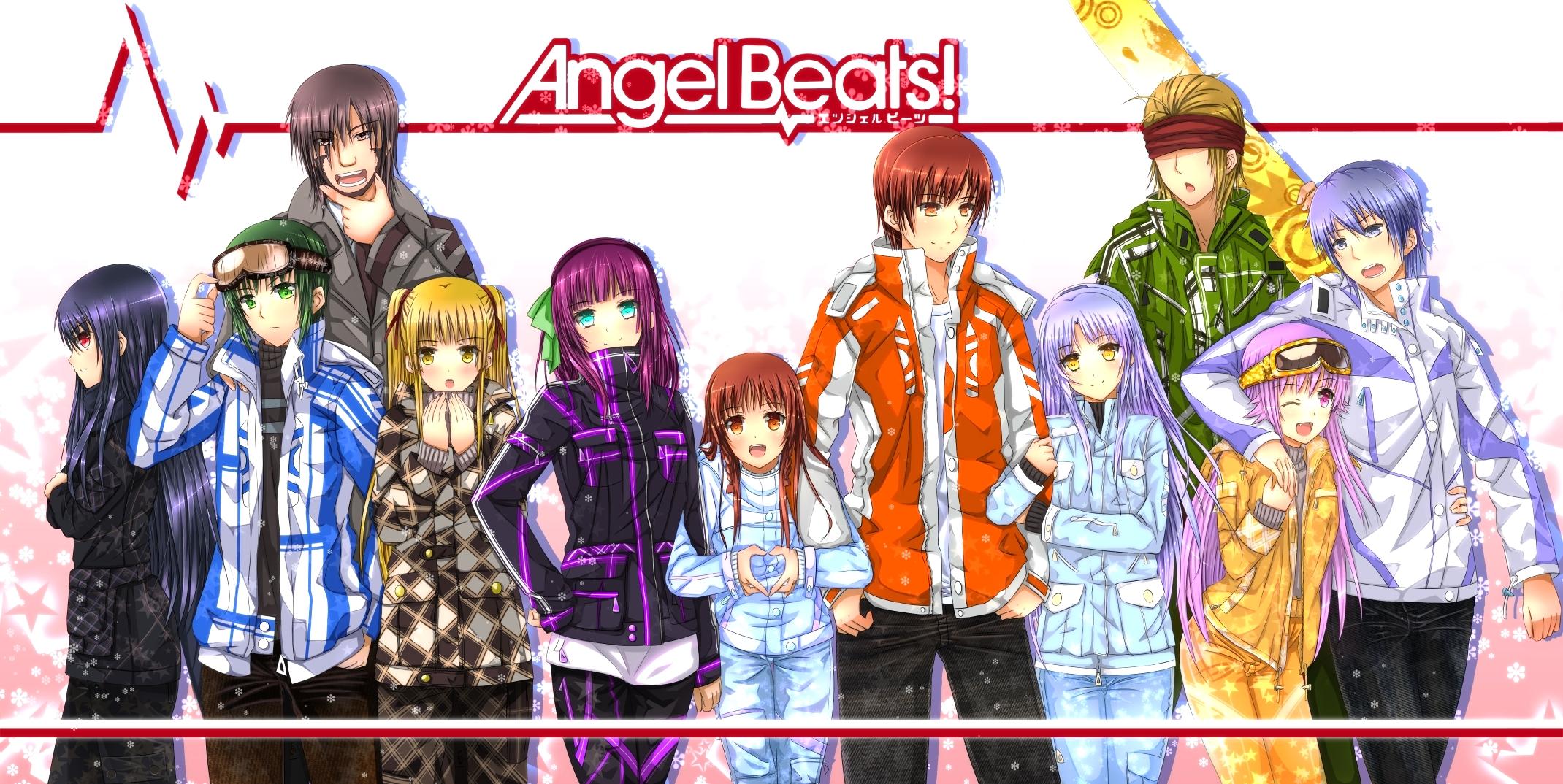 Angel Beats Wallpaper Zerochan Anime Image Board