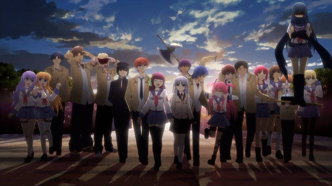 Angel Beats Zerochan Anime Image Board