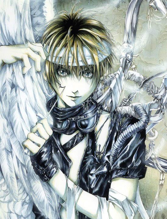 Tags: Anime, Kaori Yuki, Angel Sanctuary, Mudo Setsuna, Character Request