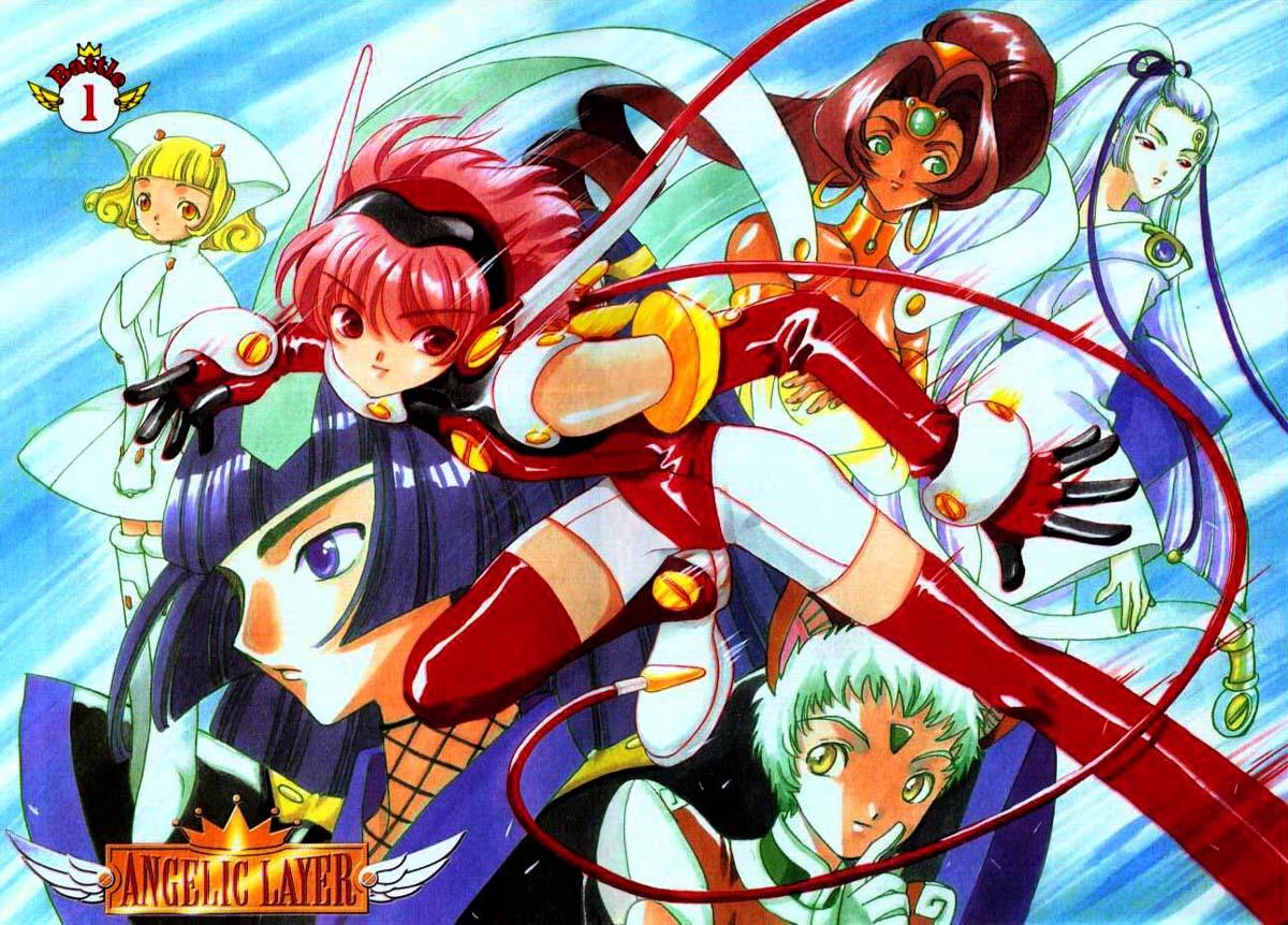 angelic layer hikaru fighting