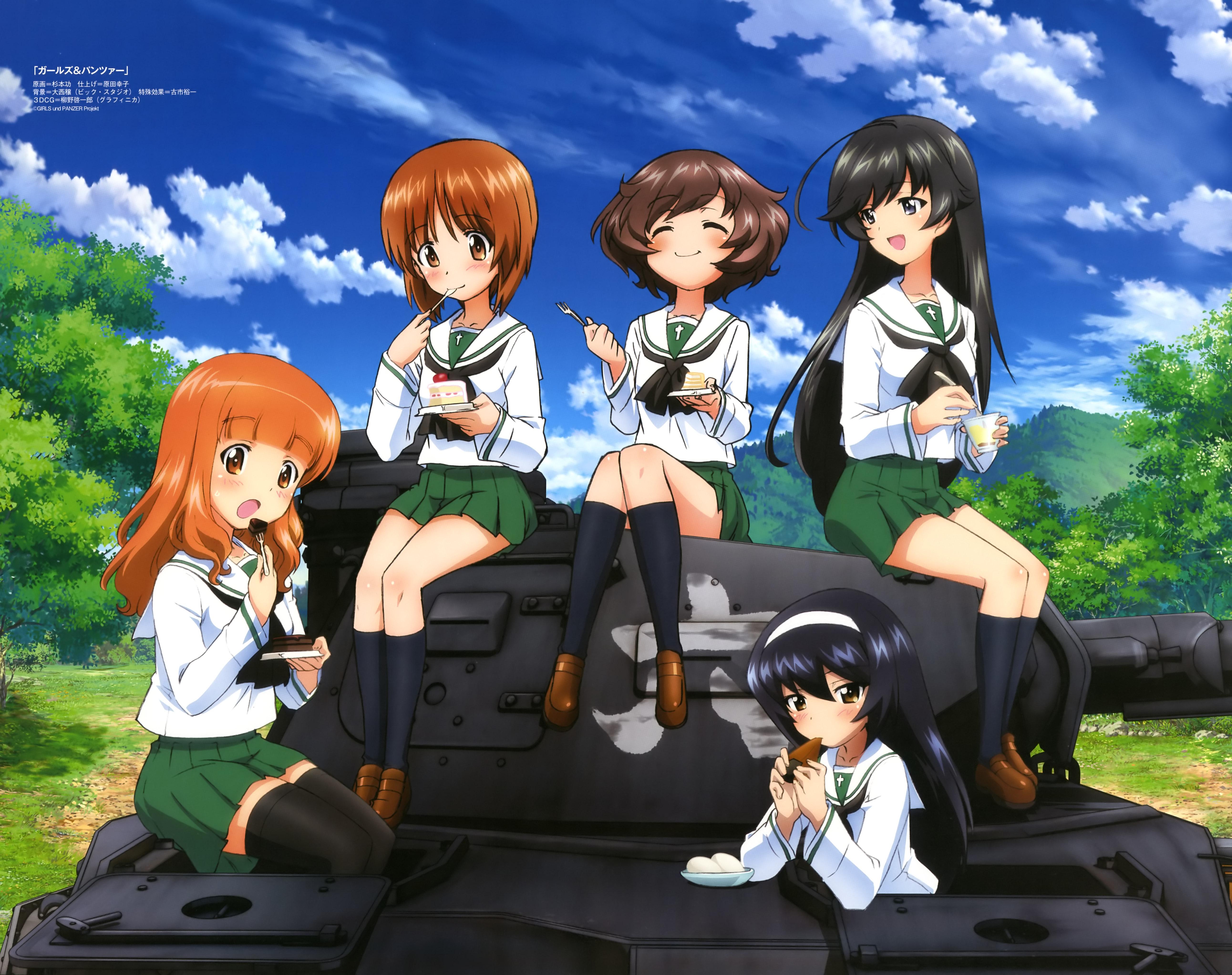 Girls Und Panzer Zerochan Anime Image Board