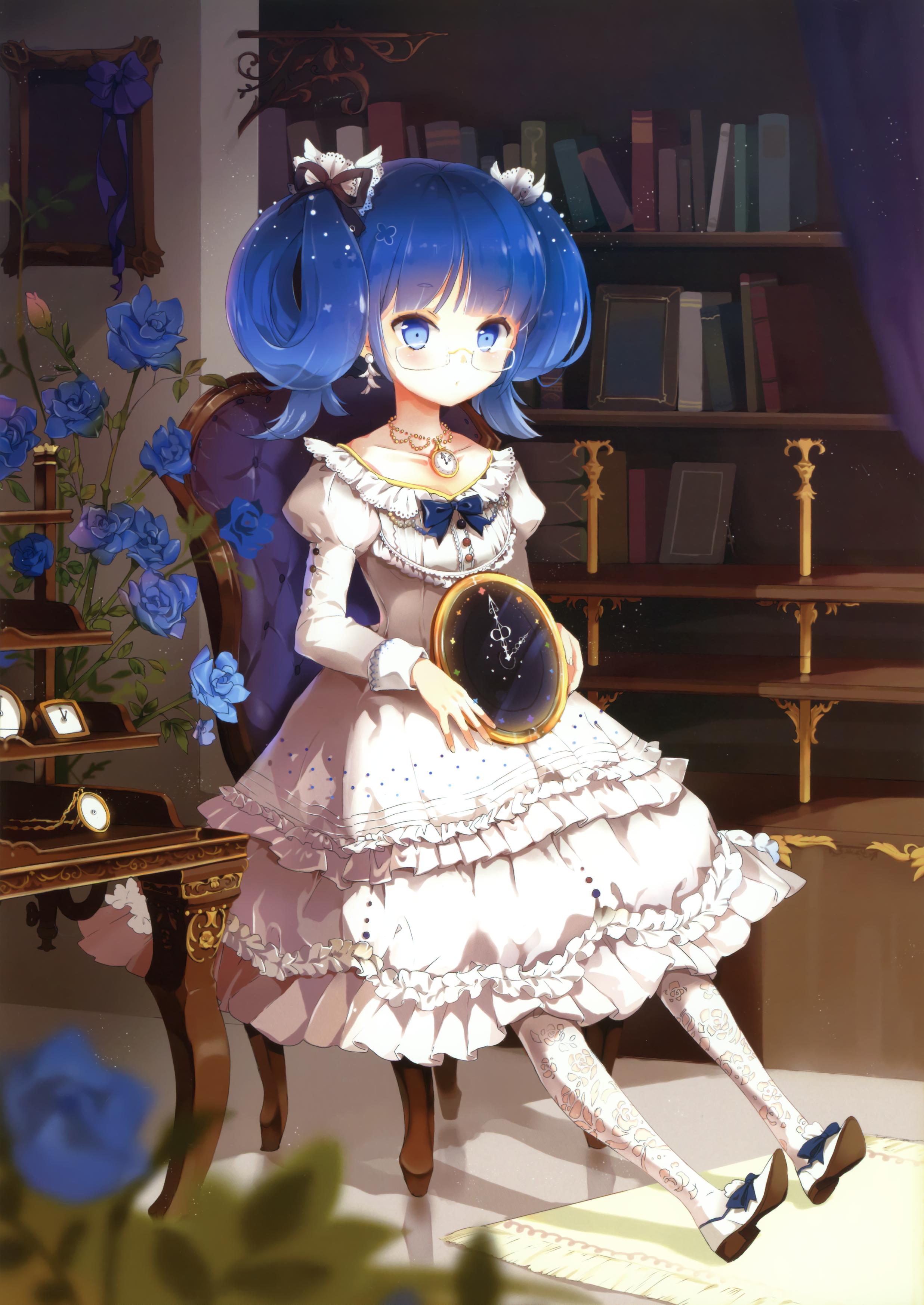 青い髪の女の子5【青髪同盟】 ->画像>3000枚