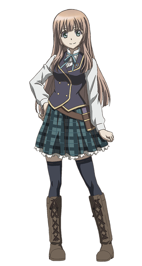 Tags: Anime, Ishihara Megumi, Studio Hibari, Manaria Friends, Anne (Shingeki no Bahamut), Cover Image, Mobile Wallpaper, PNG Conversion, Official Art