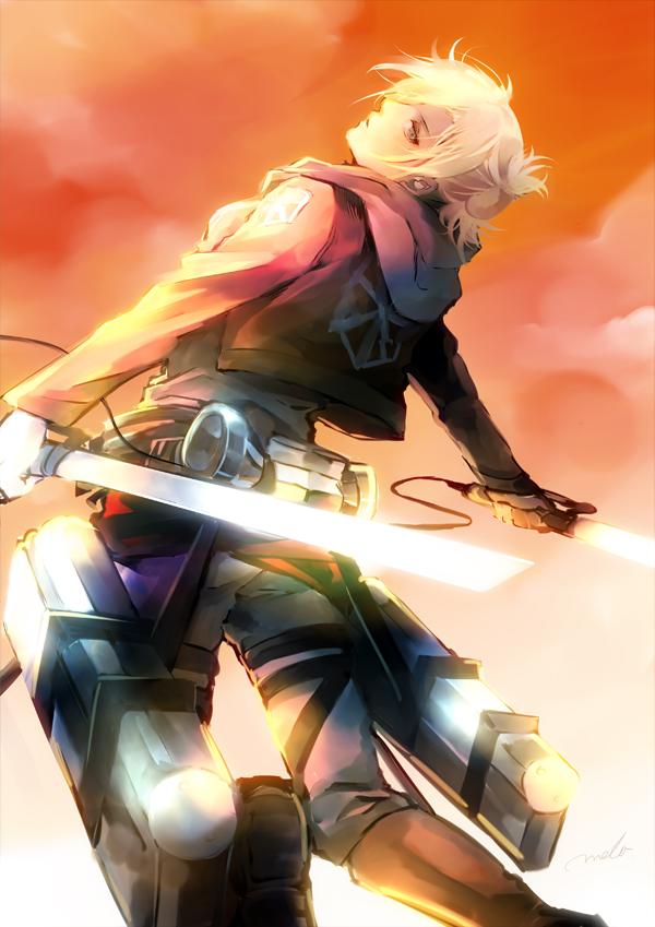 Tags: Anime, MELO (Pixiv3603676), Attack on Titan, Annie Leonhardt, Mobile Wallpaper