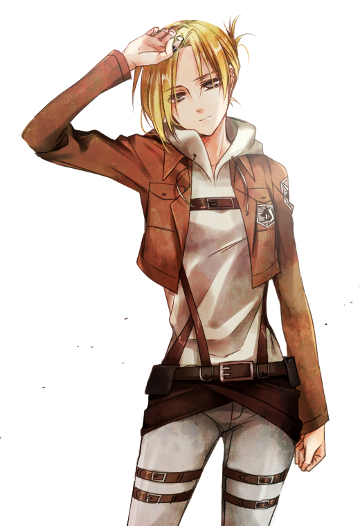 Tags: Anime, Kenao, Attack on Titan, Annie Leonhardt, Mobile Wallpaper