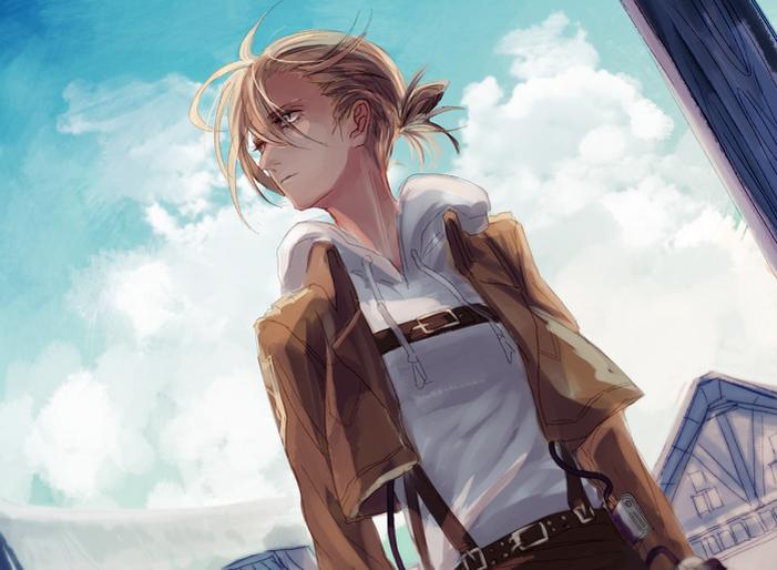 Annie Leonhardt Attack On Titan Zerochan Anime Image Board