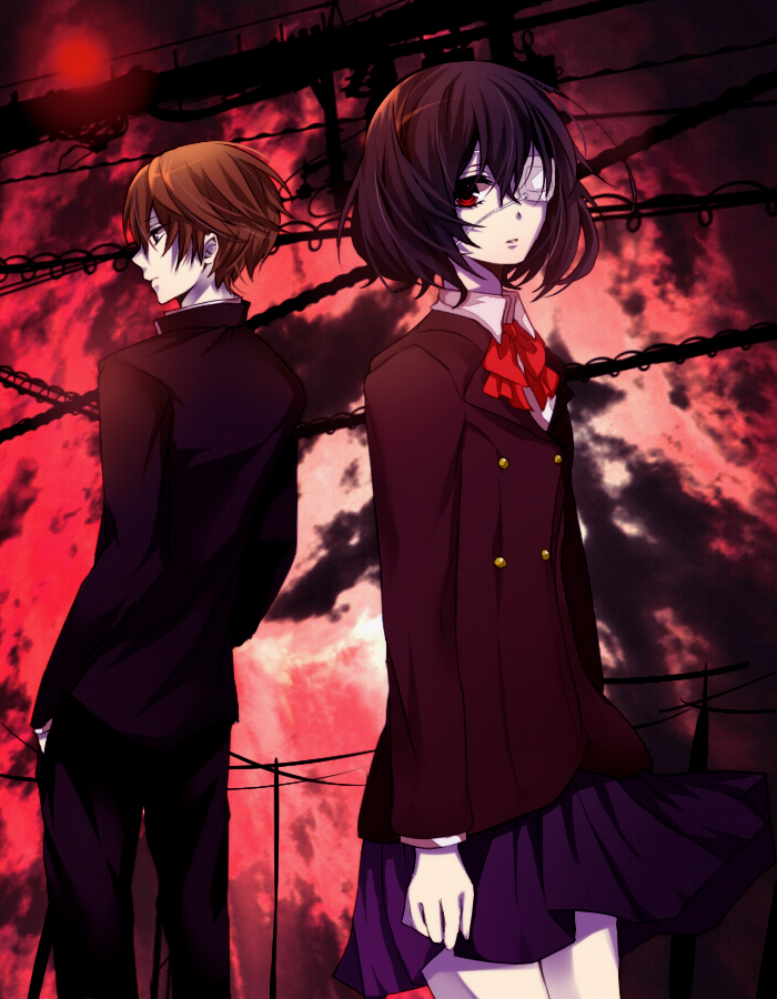 Another Image #978014 - Zerochan Anime Image Board Another Kouichi And Misaki