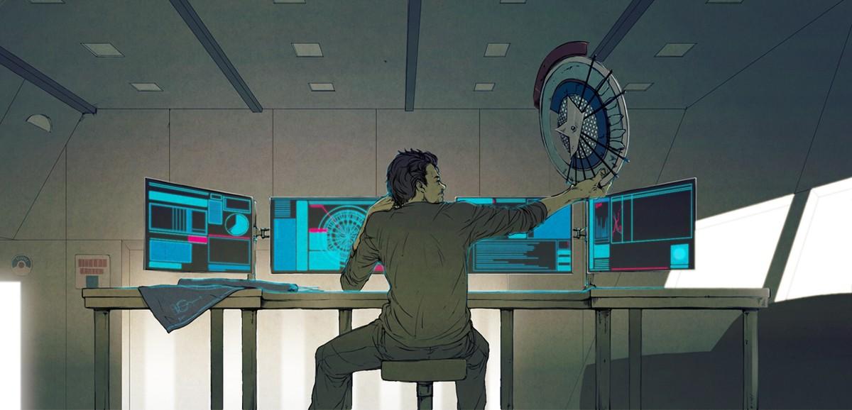 tony stark office. View Fullsize Anthony Edward Stark Image Tony Office R
