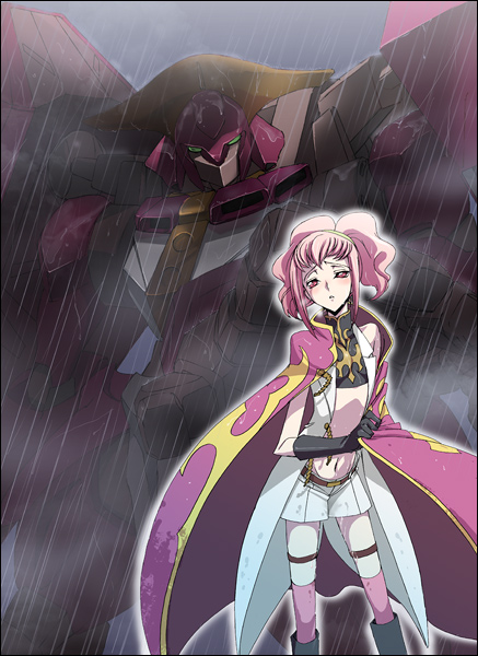 Tags: Anime, Dalc Rose, CODE GEASS: Hangyaku no Lelouch, Knightmare, Anya Alstreim, Mobile Wallpaper, Fanart