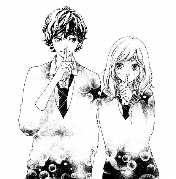 Tags: Anime, Sakisaka Io, Ao Haru Ride, Yoshioka Futaba, Mabuchi Kou