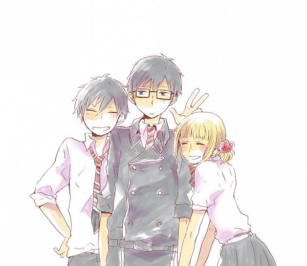 Tags: Anime, Ao no Exorcist, Okumura Yukio, Okumura Rin, Moriyama Shiemi
