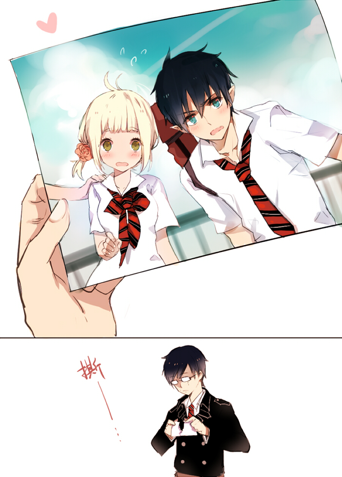 rin and yukio relationship problems
