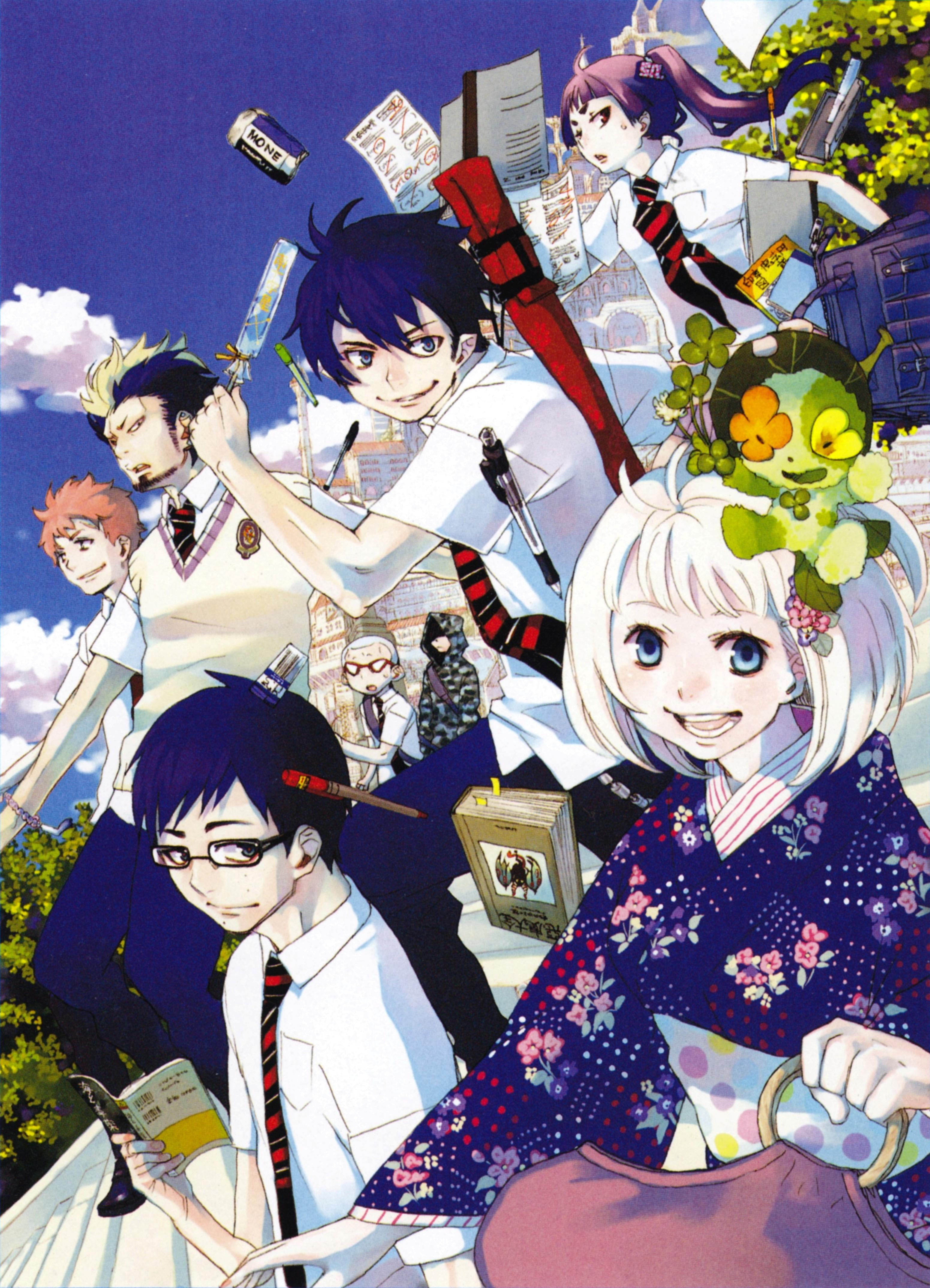 Ao no Exorcist (Blue Exorcist) Image #2129907 - Zerochan Anime Image Board