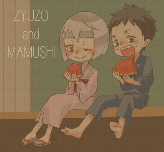 Tags: Anime, Pixiv Id 2322446, Ao no Exorcist, Houjou Mamushi, Shima Juuzou, Pixiv, Blue Exorcist