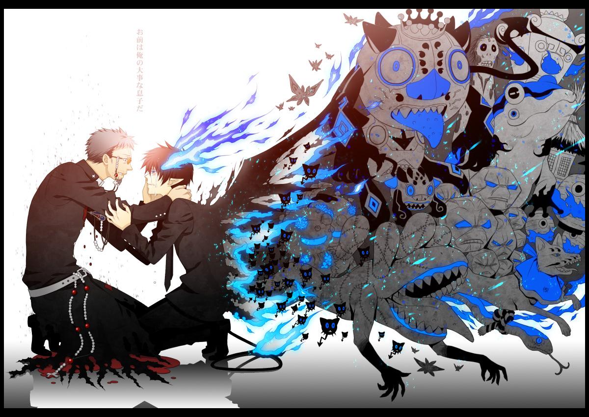 Ao No Exorcist Blue Exorcist Wallpaper Zerochan Anime Image Board