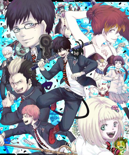 Tags: Anime, Mike (Ao no Exorcist), Amaimon, Uke (Ao no Exorcist), Blue Exorcist