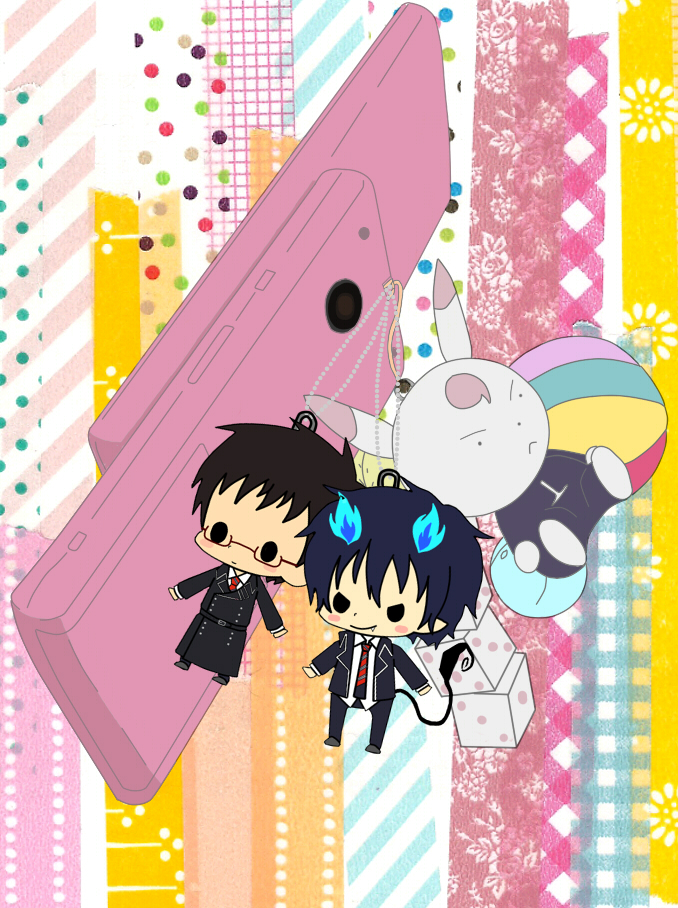 Tags: Anime, Pixiv Id 1308352, Ao no Exorcist, Okumura Yukio, Okumura Rin, Blue Exorcist