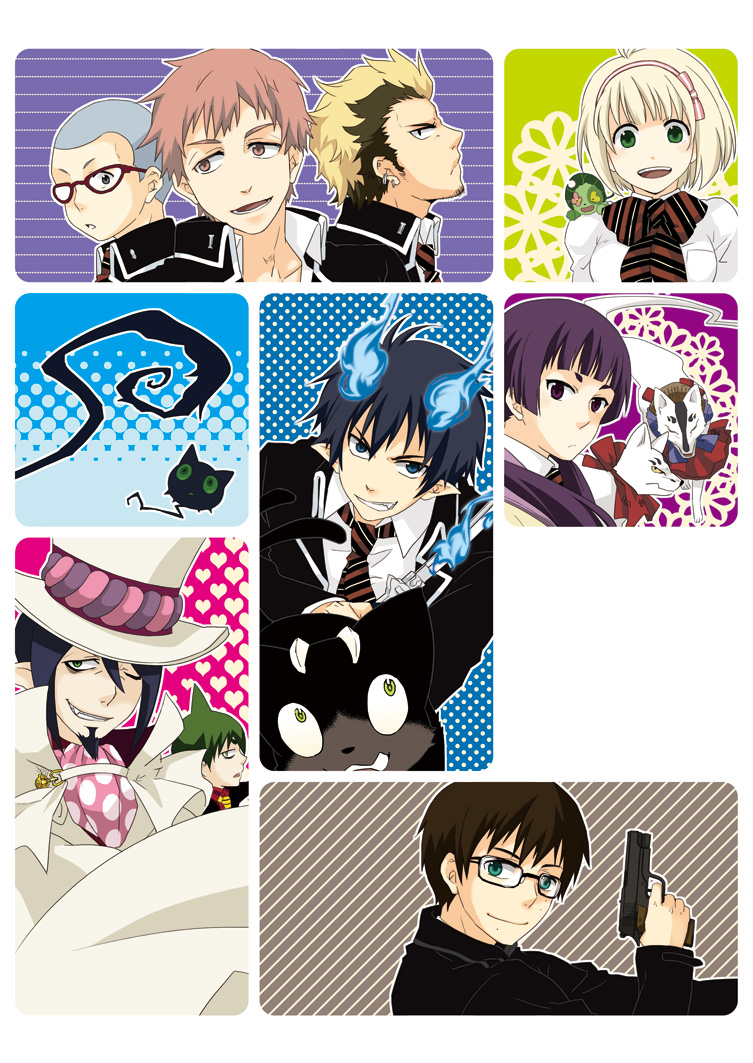 Ao No Exorcist Blue Exorcist Katou Kazue Mobile Wallpaper