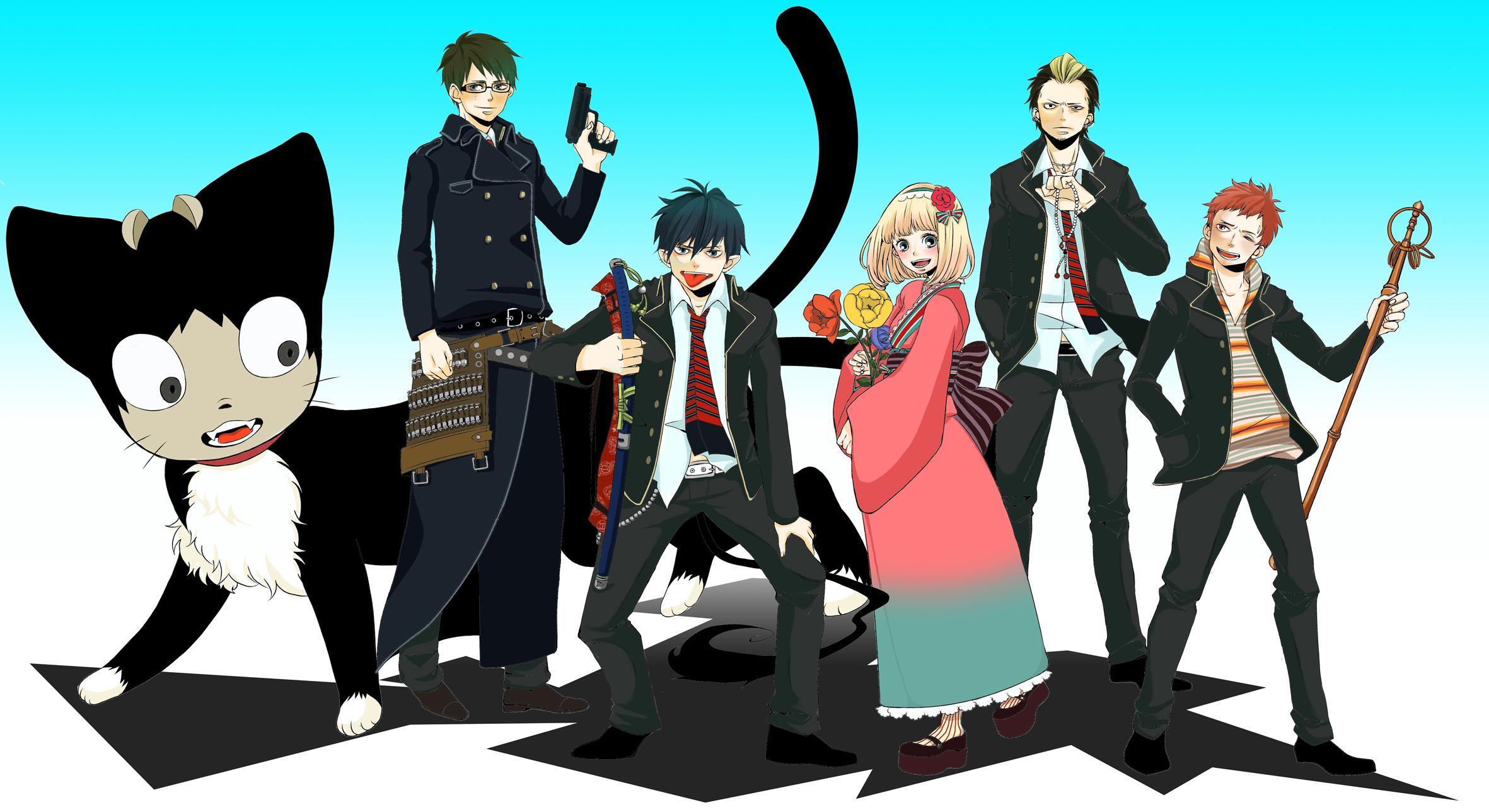 Ao No Exorcist Blue Exorcist Wallpaper 570103 Zerochan Anime