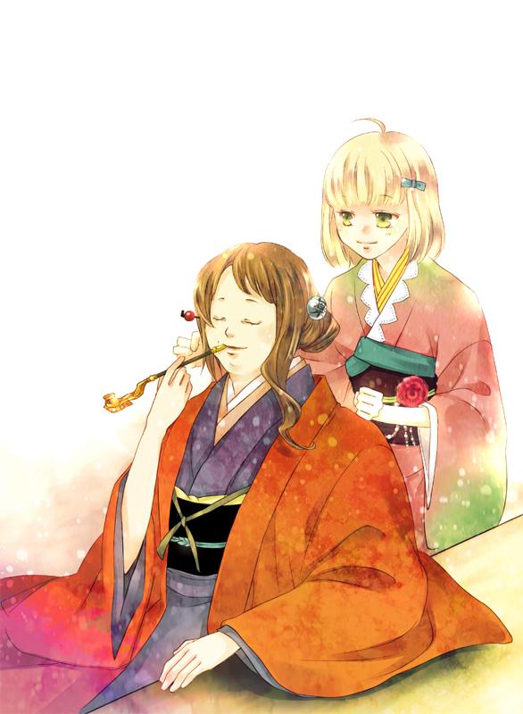 Tags: Anime, Hanagosui, Ao no Exorcist, Moriyama Shiemi, Blue Exorcist
