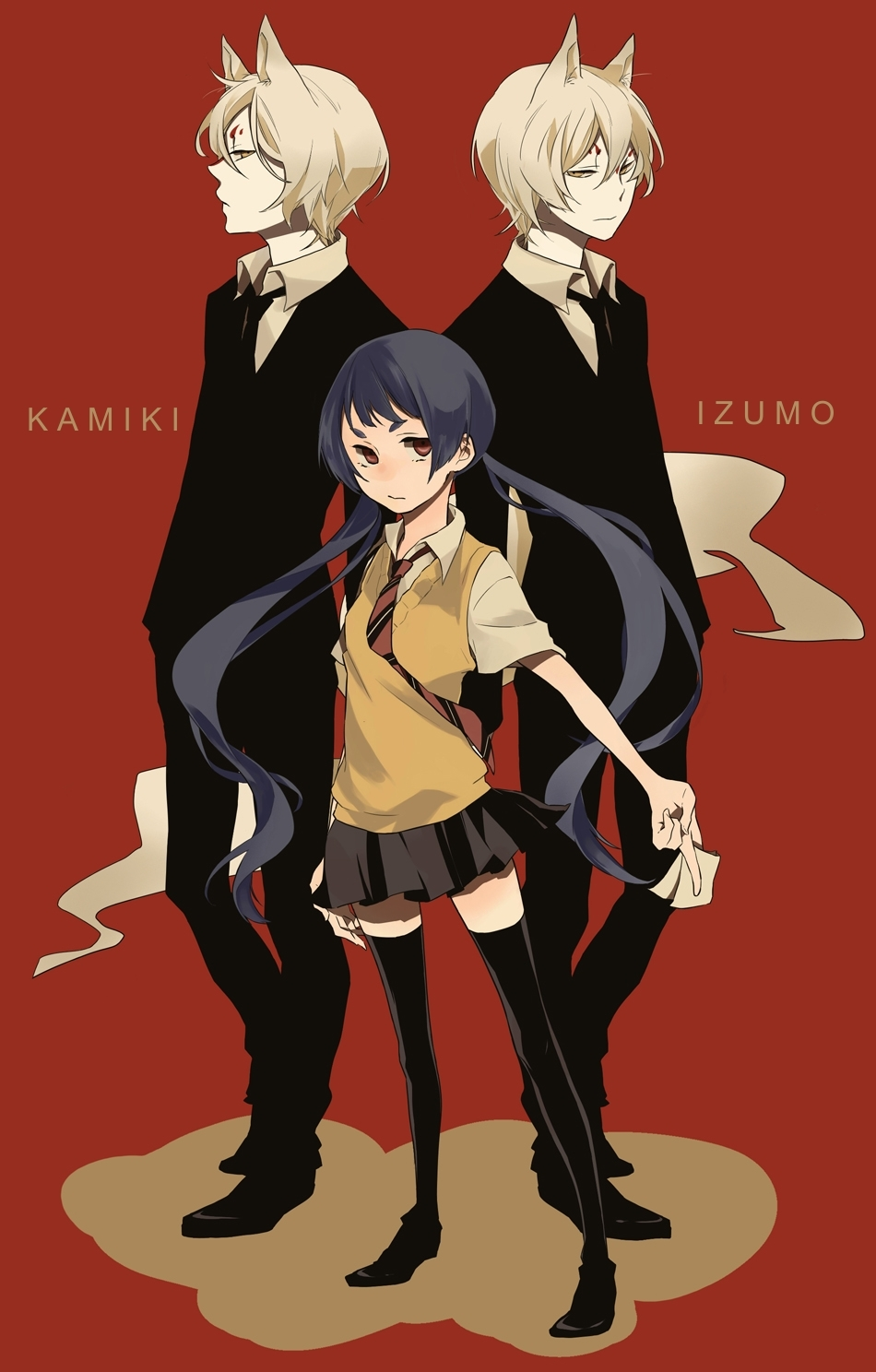 Ao No Exorcist Blue Exorcist Katou Kazue Mobile Wallpaper