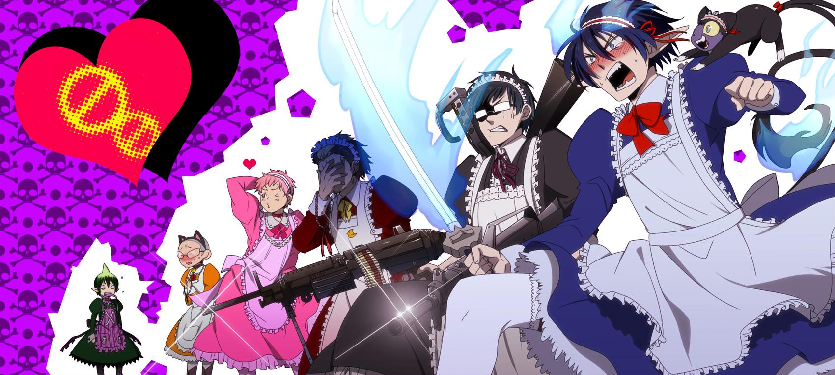 ao no exorcist blue exorcist katou kazue zerochan anime image