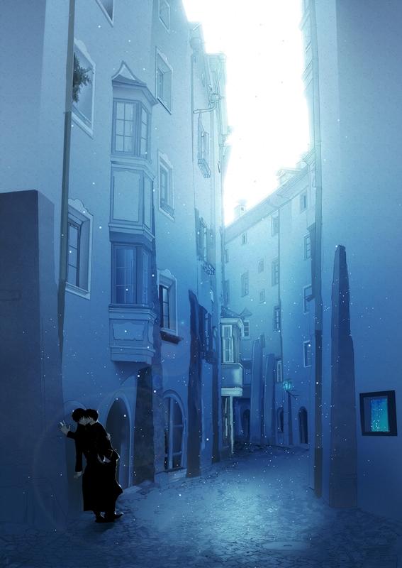 Tags: Anime, Pixiv Id 307492, Ao no Exorcist, Okumura Yukio, Okumura Rin, Twincest, Fanart, Mobile Wallpaper, YukiRin (Pairing), Blue Exorcist