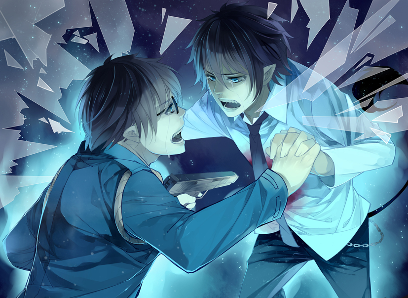 Blue Exorcist Amaimon X Male Reader - 0425