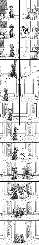 Tags: Anime, Ao no Exorcist, Amaimon, Okumura Yukio, Okumura Rin, Mephisto Pheles, Demon Brothers, Blue Exorcist