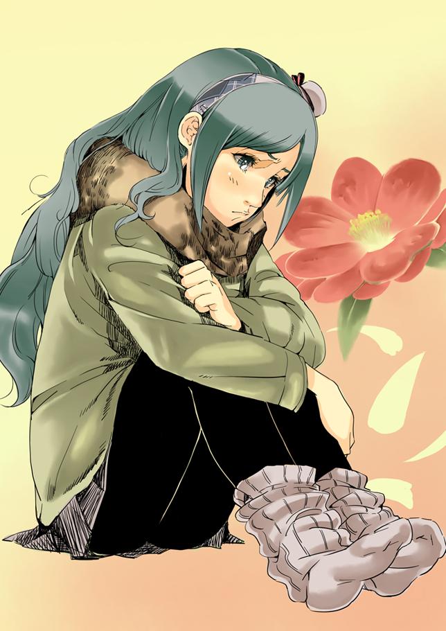 Tags: Anime, Sapphire Satou, Fresh Precure!, Aono Miki, Pixiv, Mobile Wallpaper, Fanart From Pixiv, Fanart