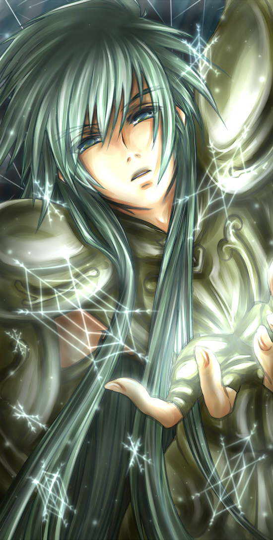 Canvas 2 Anime Characters : Aquarius degel saint seiya lost canvas image